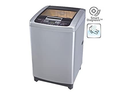 LG T7567TEELR Top-loading Fully-automatic Washing Machine (6.5 Kg, Free Silver)