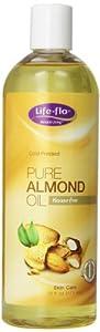 Life-Flo Oil, Pure Almond, 16-Ounce