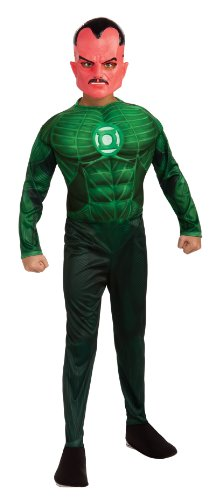 Rubies Costumes Green Lantern - Sinestro Muscle Child Costume Green Small