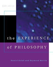 The Experience Of Philosophy
