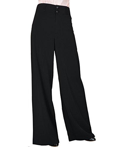 YSJ Women's High Waisted Wide Leg Long Palazzo Pants 41.3
