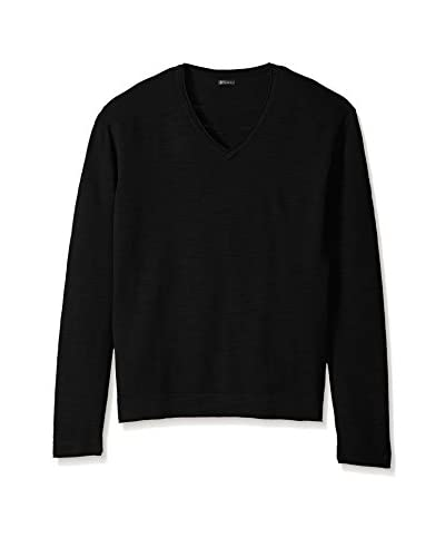 Thaddeus Men's Croton Long Sleeve Crossover V-Neck Sweater