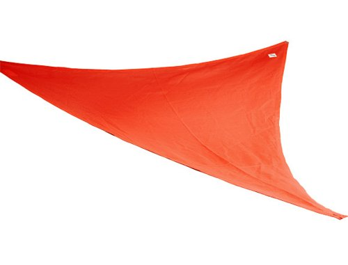 Coolaroo Party Sail 9 Feet 10 Inch Triangle - Red