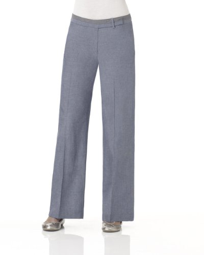 DENIM WIDE-LEG PANT