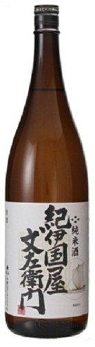 中野BC 純米酒 紀伊国屋文左衛門 瓶 1800ml