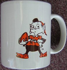 Cleveland Browns Brownie Elf Coffee Mug