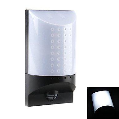 Infrared Sensor Motion Detect White Light Led Emergency Lamp (4Xaa)