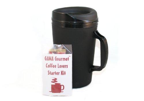 Gourmet 34 Oz Thermoserv Coffee Black Mug Kit