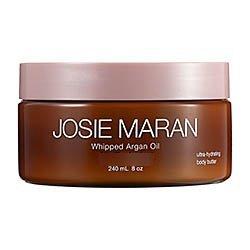 Josie Maran Whipped Argan Oil Ultra Hydrating Body Butter Pure Vanilla Bean 8 Oz