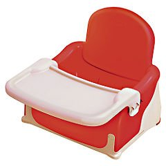 Lindam Booster Seat Red White