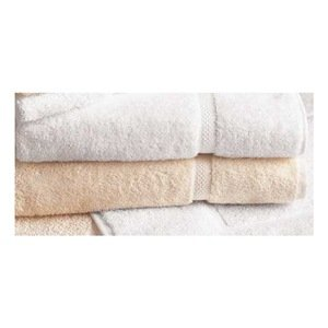 Bath Towel, White, 27x50, PK 12
