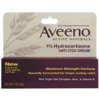 Amazon.com: Aveeno 1% Hydrocortisone Anti, Itch Cream, Maximum