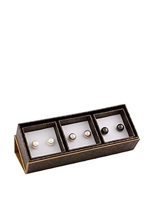 Bella Pearls Pendientes plata de ley 925 milésimas