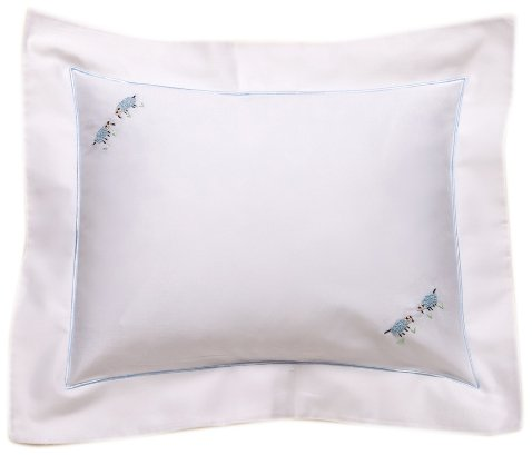 Jacaranda Living Baby Boudoir Pillow, Blue Sheep