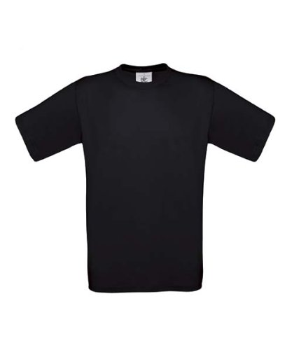 B&CHerren T-Shirt Schwarz Schwarz XL,Schwarz - Schwarz