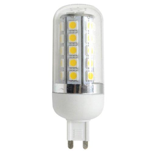 Zono® Ac 110V Ac 220V G9 Base 7W 34 Smd 5050 Led Corn Light Lamp With Transparent Cover