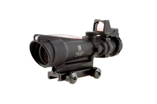 Trijicon Ta11J-Rmr Acog 3.5X35 Scope, Dual Illuminated Red Crosshair .223 Ballistic Reticle, 3.25 Moa Rmr Sight