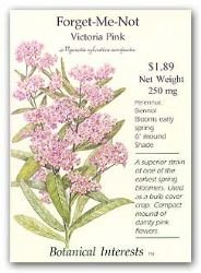 Forget-Me-Not Victoria Pink Seeds 400 Seeds