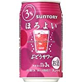サントリー チューハイ ほろよい ぶどうサワー 350ML × 24缶