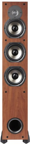 Best Buy! Polk Audio Monitor 65T Three-Way Ported Floorstanding Speaker (Single, Cherry)