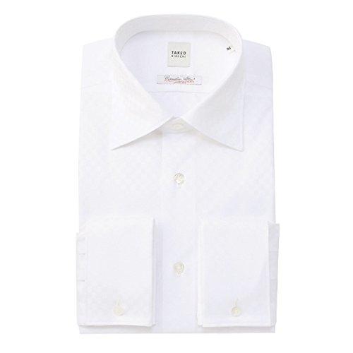 タケオキクチ(TAKEO KIKUCHI) シャツ(アルビニシャドーブロックチェックシャツ)【001ホワイト/S】