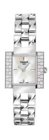 Tissot Damen-Armbanduhr T-TWIST T0043091111001