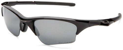 Oakley Men's Half Jacket XLJ Iridium Polarized Asian Fit Sunglasses