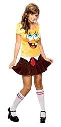 Rubie's Costume Co Women's Secret Wishes Sponge Babe Costume Yellow by Rubie?s Costume Co