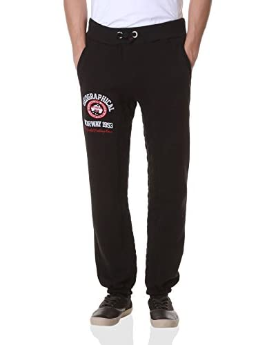 Geographical Norway Sweatpants Malixte schwarz