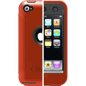 OtterBox Defender Case for iPod Touch 4th Gen (Orange/Coal)