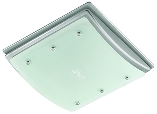 Hunter 90064 Bent Alabaster Glass Bathroom Fan (Bathroom Exhaust Fan 12 compare prices)