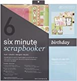 Six Minute Scrapbook  er 12 Inch x12 Inch Page  Kit   - Birthday