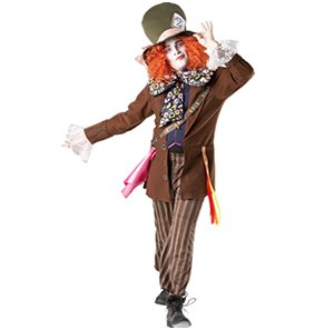 Mad Hatter - Alice in Wonderland - Disney - Adult Fancy Dress Costume
