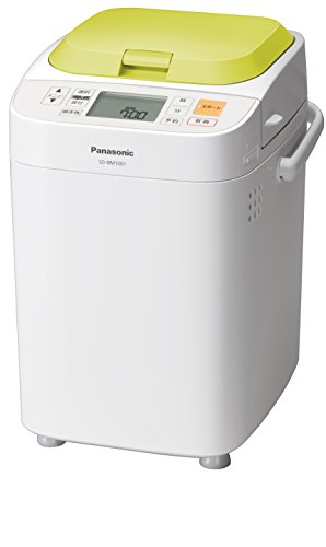 Panasonic Bread Maker 25 Menu (With Rice Cake,udon Nioodle and Pasta Maker) Home Bakery Loaf Type Green Sd-bm1001-g (Home Bakery Panasonic compare prices)