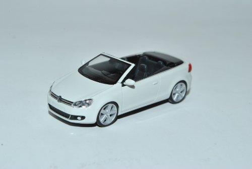 VW Volkswagen Golf VI Cabrio Weiss