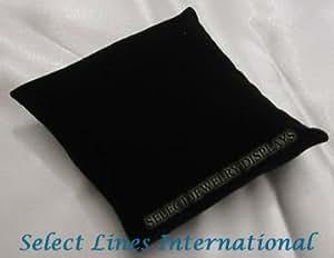 NEW Black Velvet Bracelet Watch Pillow Jewelry Display