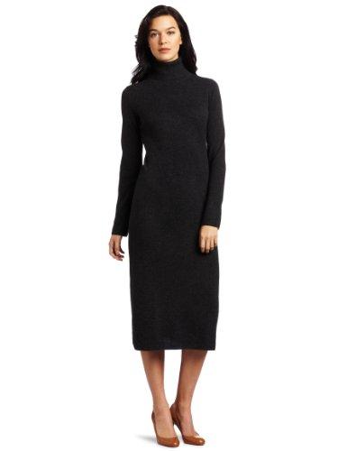 Sofie Women's Cashmere T-Neck A-Line Sweater Dress