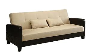 DHP Vienna Sofa Sleeper with 2 Pillows