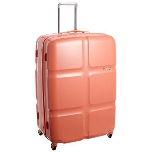 [アメリカンツーリスター] AmericanTourister Cube POP / キューブポップ スピナー79 (79cm/119L/5.0Kg) (スーツケース・キャリーバッグ・TSAロック・大容量・軽量・ファスナー・保証付き)