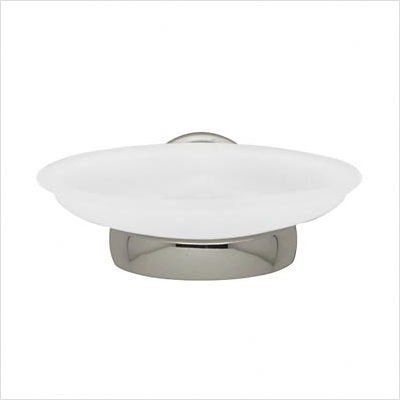 Baldwin 3506.150 Edgewater Wall-Mounted Soap Dish, Satin Nickel