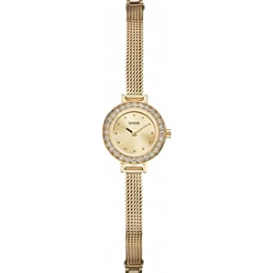 Guess W0133L2 Ladies Gold Dress Watch