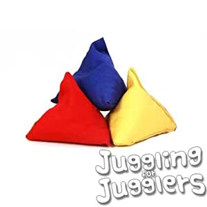 3 x Tri-it Juggling Bean Bags from Juggle Dream