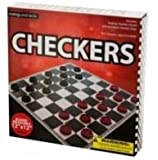 "12"" X 12"" Folding Board Checkers"