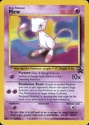 Pokemon - Mew (8) - Wizards Black Star Promos