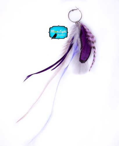 Moonlight Feather Earring Feather Earring Natasha Style Feather Earring