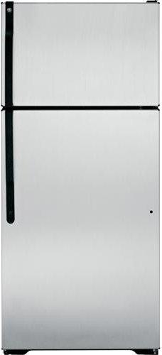 GE GTK17GBEBS 16.5 Cu. Ft. Black Top Freezer Refrigerator