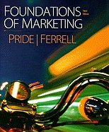 Pride Foundations of Marketing Plus Businesspace Web Booklet Forpackages Third Edition