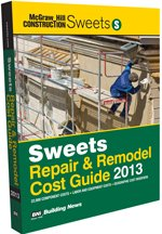 Sweets Repair & Remodel Cost Guide 2013 - BNI Publications - SW-Repair - ISBN: 1557017700 - ISBN-13: 9781557017703