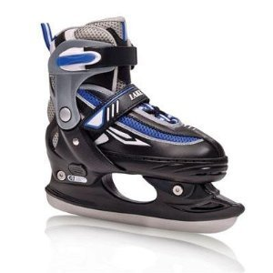 Lake Placid Metro Boy's Adjustable Figure Ice Skate (Medium (2-5))
