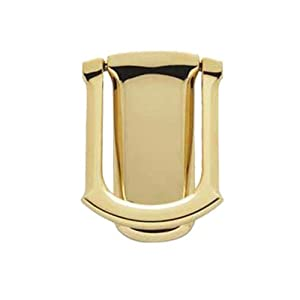 Baldwin 0105.003 Tahoe Door Knocker, Lifetime Polished Brass